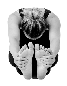 Yogastilling - foroverbøjning